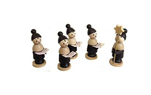 Miniaturfiguren Kurrendefiguren bunt klein HxBxT 3-4,5x1x1cm NEU Seiffen Erzgebirge Dekoration Holzfiguren Weihnachten Fensterschmuck Spielzeug Deko Weihnachtsfigur