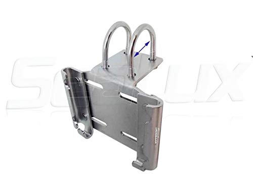 """SeaLux - Soporte de anclaje horizontal para riel de 1"""" a 1-1/4"""" (L)"""