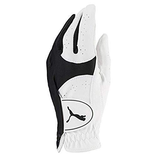 Puma Golf 2018 Women's Soft Lite Glove (Bright White-Puma Black, Small, Left Hand)