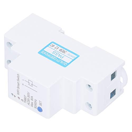 Medidor Inteligente WiFi AC85‑300V No se Requiere concentrador 80A Compatible con Otro Producto Smart Life Paquete de 1 TM607 para controlar la iluminación del hogar u Oficina, etc.