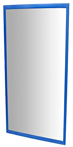 HenBea- Espejo infantil acrílico con marco de madera, Color azul, 120x50 cms (755/B2)