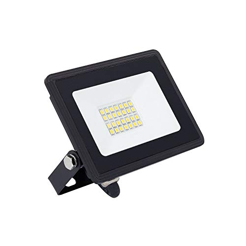 LEDKIA LIGHTING Foco Proyector LED Solid 20W Blanco Frío 6000K