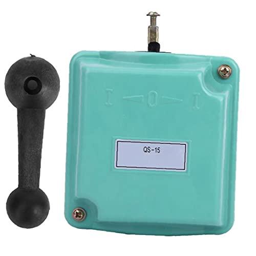 interruptor de tambor, Desvío de control de inversión Rotary Cam arranque QS-15 para monofásico motor trifásico, interruptor,