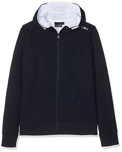 CMP CMP Mädchen Sweatshirt 38D8325, Black Blue, 176