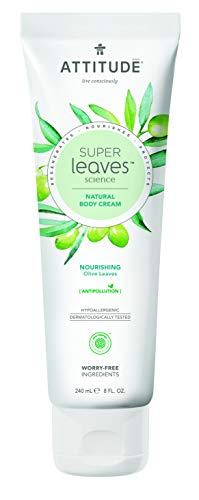 ATTITUDE Super Leaves natürliche, nährende Körpercreme mit Olivenblättern (1 x 240 ml)