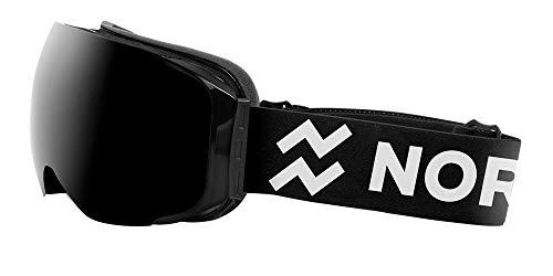 NORTHWEEK Magnet All Black - Gafas de Sol de Nieve Polarizadas para Hombre y Mujer, Negro
