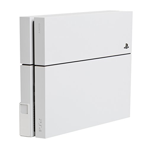 HIDEit 4 Original PS4 Mount - Wall Mount for PS4 Original (White) - Works with Limited Edition PS4 Original Consoles - Made in The USA and Trusted Worldwide Since 2009 - Search afterHIDEit on Social