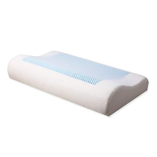 YILANS slaapkussens, langzame rebound Memory Foam Gel Bow Pillow Bed ademende nek kussen gezondheid kussen geschikt voor thuis slaapkamer, slaapzaal, enz.