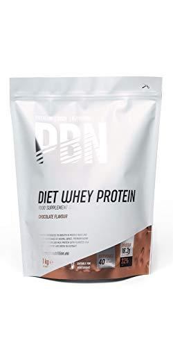 PBN Premium Body Nutrition - Paquete de proteína de suero de leche light, 1 kg, sabor Chocolate 🔥