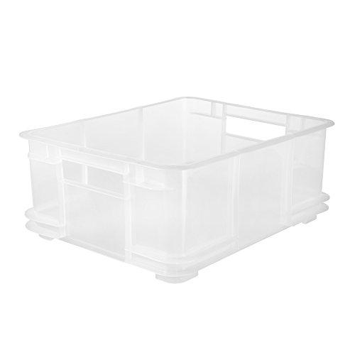 keeeper Euro-Box L, Polypropylen, transparent, 20 l
