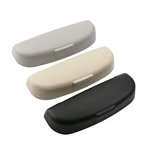 HKPKYK Caja de Gafas de Coche ABS para Coche, Soporte para Gafas de Sol, Caja de Gafas de Sol, para Audi A4 B8 B9 A3 8V Q3 Q5 Q7 2013-2019 Accesorios
