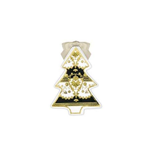 Baci Milano Albero di Natale Black Tie in Porcellana XTRFL1.GAL01