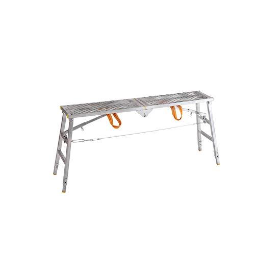 ZPWSNH ladder inklapbaar, multifunctioneel, draagbaar, voor paarden om op te staan en te vallen steiger, platform voor ingenieursvakantie, verdikking, decoratie kruk