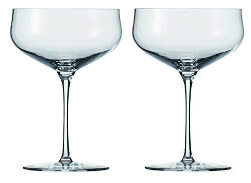 Schott Zwiesel AIR 2-teiliges Champagnerschale Glasset, Kristall, farblos, 10.5 cm, 2-Einheiten