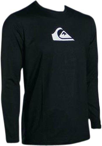 Quiksilver perfecta LS camiseta para surf, color negro