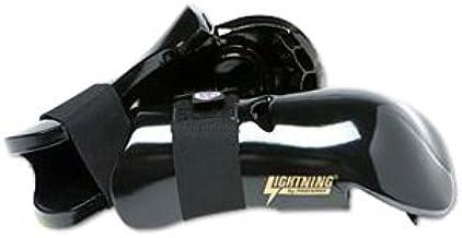 White Child Large Proforce Lightning Sparring Gloves//Punches