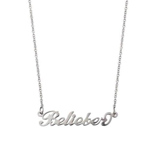 Collar 'Belieber' de Justin Bieber