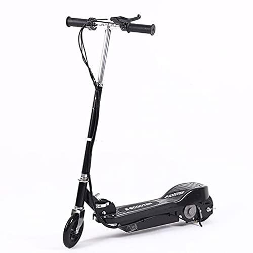 AFSDF Scooter eléctrico Plegable para Adultos Marco de Aluminio Plegable Ligero Ligero y manillares Ajustables patear Scooter para niños