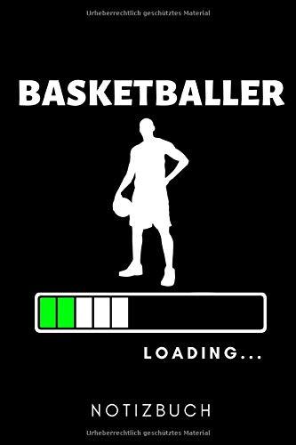 BASKETBALLER LOADING... NOTIZBUCH: A5 WOCHENPLANER Basketballbuch | Basketballer Geschenke | Zubehoer | Sport | Training | Basketballbuecher | Geschenkideen für Kinder und Sportler