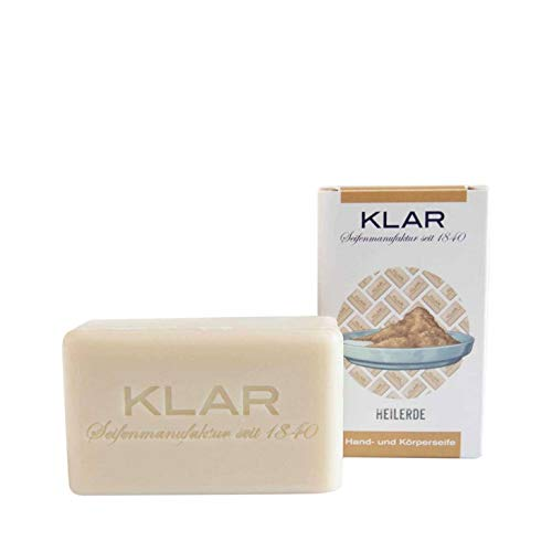 Klar - Heilerde Seife - Vegan - Palmölfrei - 100 g