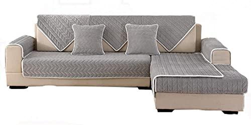Funda para sofá y Protector para Mascotas,Manta de sofá Acolchada Cuadrada,Protector de sofá seccional Fundas de sofá ,tapetes Suaves Funda Cubre Sofá 1 Pieza para Chaise Longue Rinconera EtcA