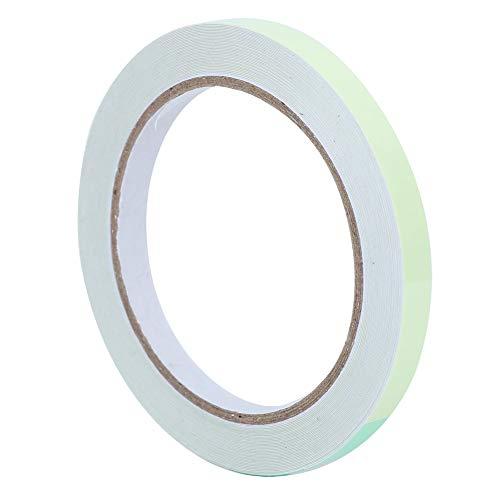 Cinta luminosa, 10 mm x 10 m Cinta luminosa adhesiva verde Protección del medio ambiente Cinta ignífuga