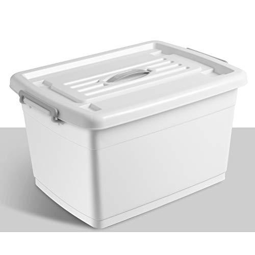 AQSG Boîte de Rangement, Multicolore, en Plastique avec Contenant empilable avec Couvercle
