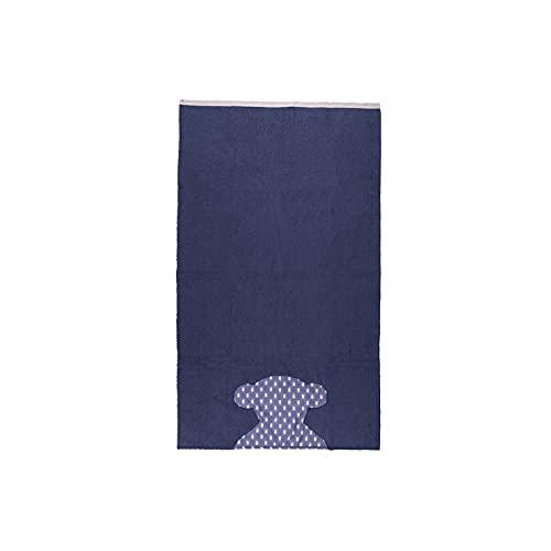 TOUS BABY - Toalla de Playa para Bebé con Oso Tous Estampado. Medidas 73 x 130 cm. (0/36 Meses) (PupTai 73 x 130 cm, Azul)