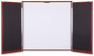 Lorell Dry-Erase Whiteboard Presentation Cabinet