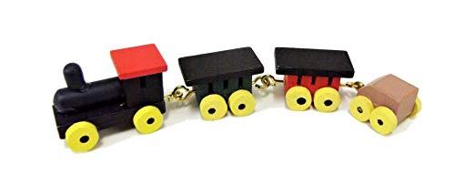 Melody Jane Maison de poupées Boutique Miniature Accessoire DE pouponnière en Bois Traditionnel Jouet pour garçon Train