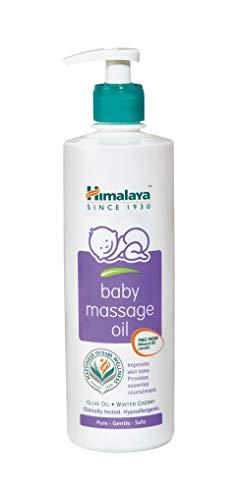 Himalaya Face Body Oil Baby Massage Oil For All Skin Types (500 ML)