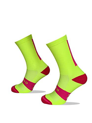 Calcetines Deportivos Técnicos Compresivos, diseñados para el Alto Rendimiento en la Práctica Deportiva de Running, Ciclismo, CrossFit, Gimnasio.