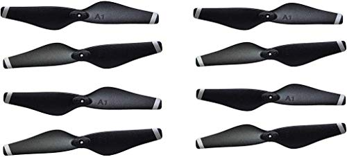 Drone-Clone Xperts Propeller Blades for Drone X Pro AIR 1080p HD Dual Camera WiFi FPV RC Quadcopter Spare Parts 2 Sets (8pcs)