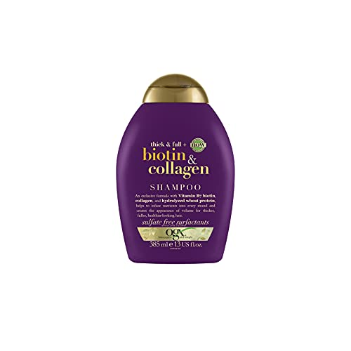 OGX Thick & Full Biotin & Collagen Shampoo, 385 ml
