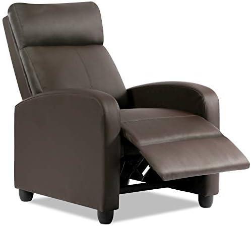 Best Vnewone sx102-brown Recliner Chair, Brown