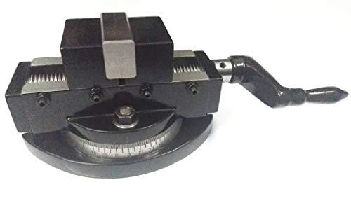 Selbstzentrierender Fräsmaschinen-Schraubstock mit drehbarem Sockel, 50 mm
