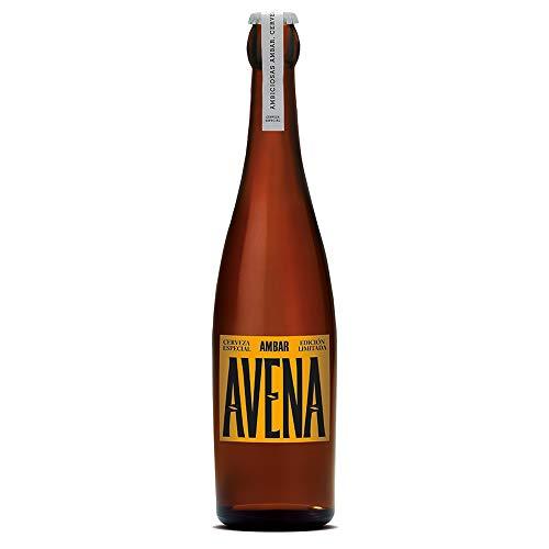 AMBAR cerveza ambiciosa nº 10 botella 33 cl