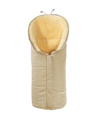 Hofbrucker seit 1948 Wagensack aus Lammfell Eskimo beige one size