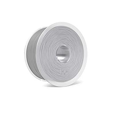 BQ F000157 1.75 mm PLA Plastic Coil - Ash Grey