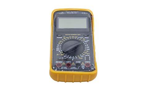 Multímetro digital con medidor frecuencias. Incluye sonda para medición de temperatura hasta 700ºC.