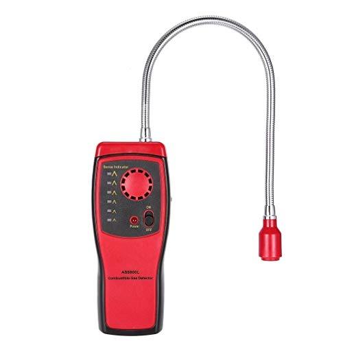 no-branded Brennbare Gasleck Prüfvorrichtung-Werkzeug Detektor for brennbares Gas Methan-Gas-Leck-Detektor Analyzer XXYHYQHJD