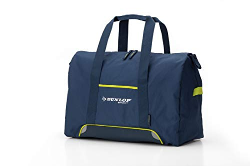 Dunlop Biomimetic Bags - Small Shoulder Duffle Bag Holdall - 48 x 22 x 33 Centimeters, Capacity 34 litres - Navy Blue