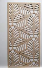 LaserKris-L2-Grille décorative en fibres à densité moyenne pour radiateur ou armoire (4 x 2)