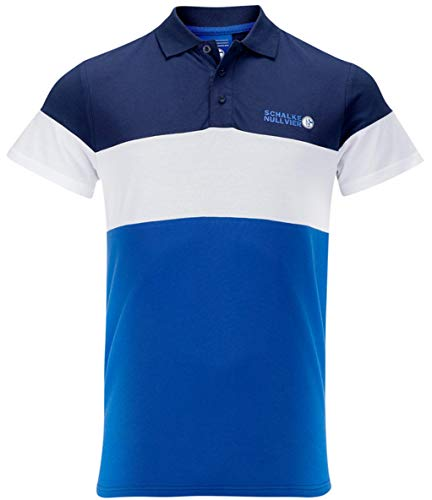 FC Schalke 04 Herren Polo Shirt Cut & Sewn (M)