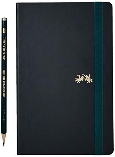Caderno sem Pauta + EcoLápis, Faber-Castell, CDNSKT/ME, Sketchbook Castell 9000, 20x12.5cm, 84 Folhas