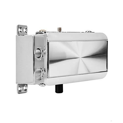 Cerradura de puerta remota inteligente de acero inoxidable Seguridad para el hogar Cerradura inteligente Cerradura antirrobo sin llave con 4 controles remotos