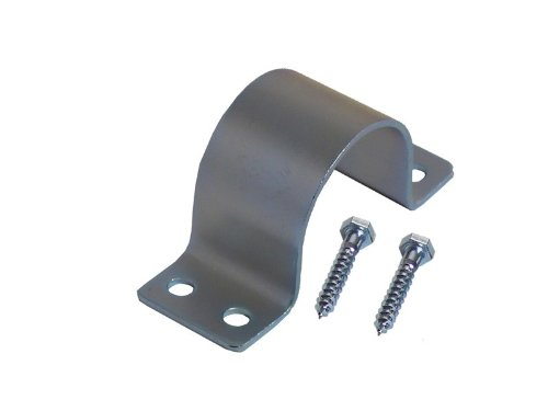 A.S.Sat 46061 verzinkt Stahl Mastschelle für Rohre 58-60 mm Durchmesser