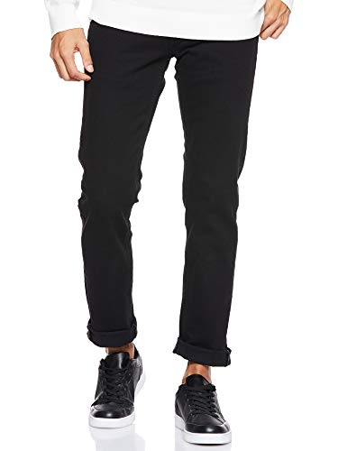 Lee Daren Zip Fly, Jeans Dritto Uomo, Nero (Black Rinse), W28/L34