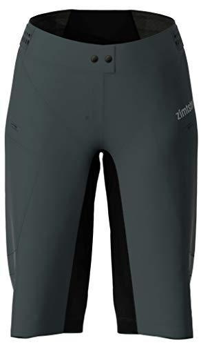 Zimtstern Startrackz Evo Short Wmns, Pantaloncini da MTB Donna, Pirate Black/Pirate Black, XL