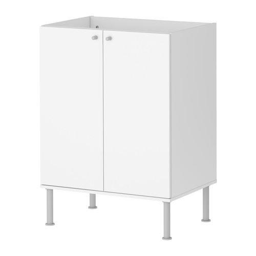 Fullen–Waschbecken Unterschrank, Weiß